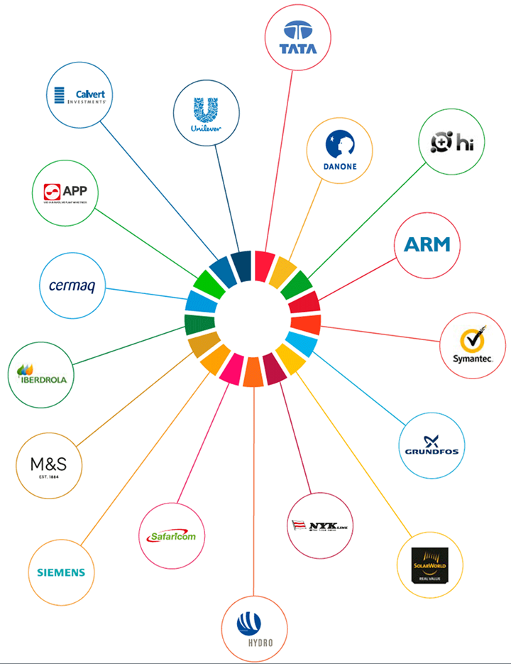 Global Goals and companies