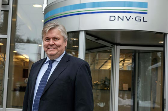 Henrik O. Madsen, President & CEO, DNV GL Group. [Photo: DNV GL/Damir Cvetojevic]